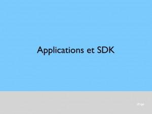 Cas des applications
