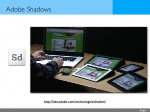 Adobe shadows