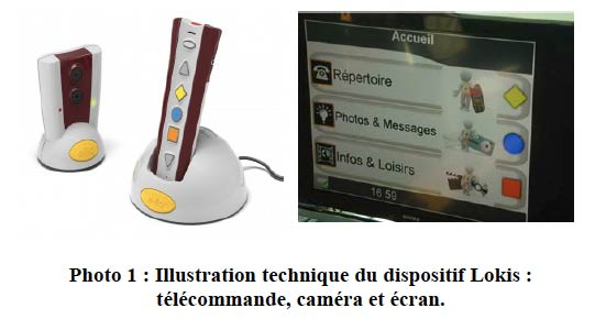 Dispositif d'aide, télécommande et interface sur la TV