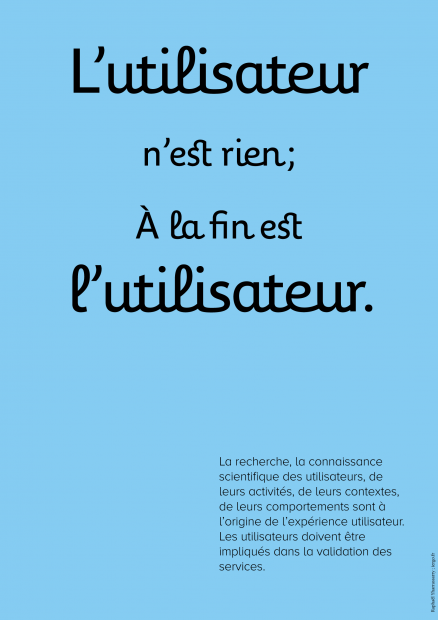 Affiche UX
