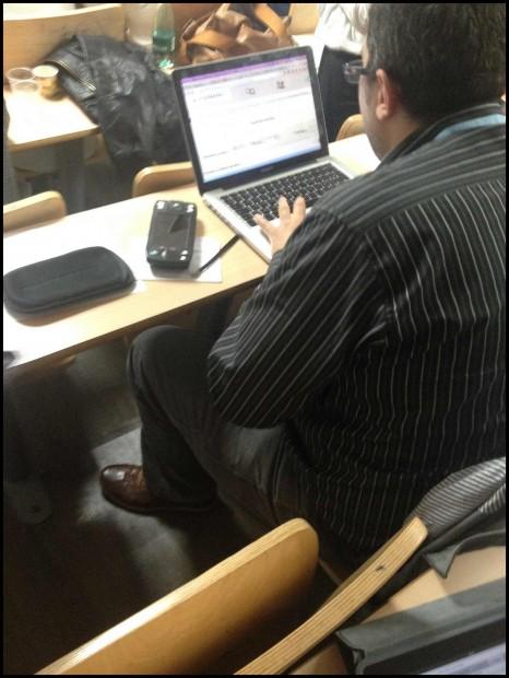 Test utilisateur avec une personne mal-voyante