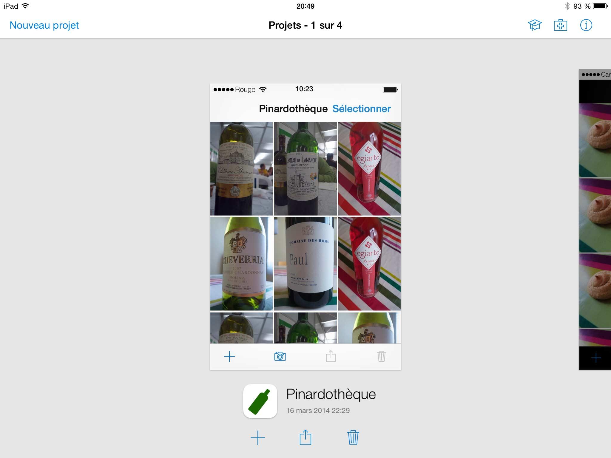 Concevoir une apps pour mobile