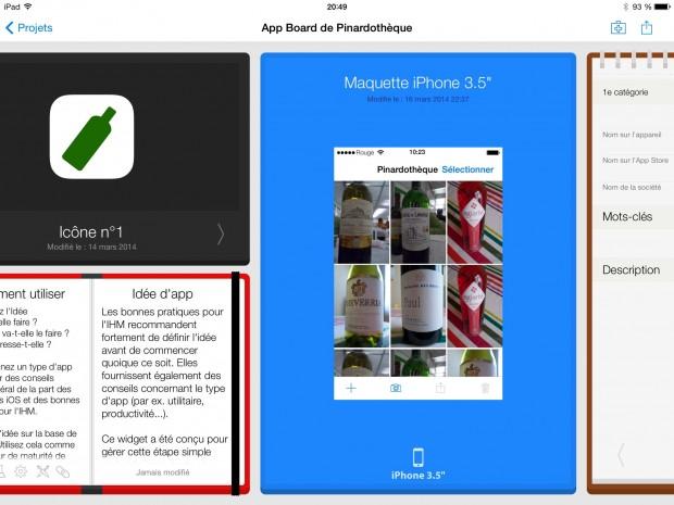AppCooker - Détail d'un Projet