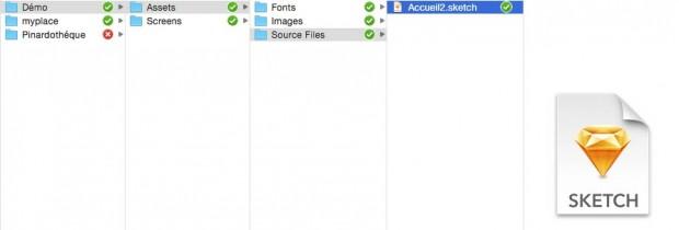 Dépot InVision dans DropBox