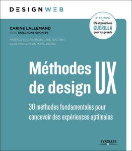 Couverture du livre Méthodes de design UX 2éme édition