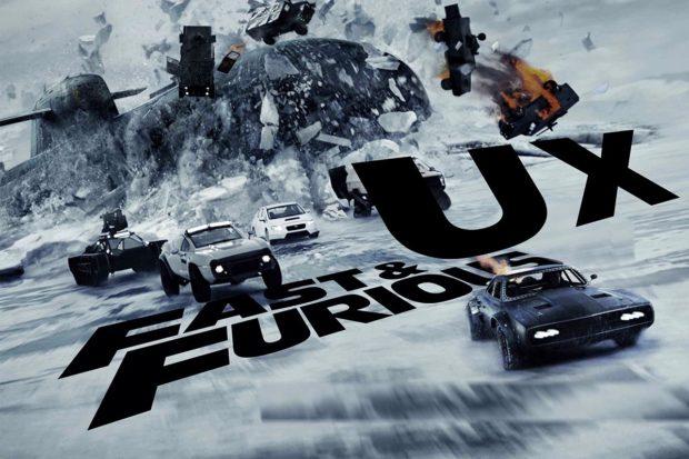 Image du film Fast & Furious avec UX